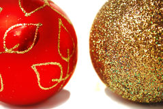 De ballen van Kerstmis. Stock Foto's
