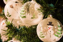 De ballen van Kerstmis Royalty-vrije Stock Fotografie