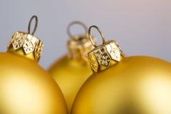 De ballen van Kerstmis. Royalty-vrije Stock Afbeelding
