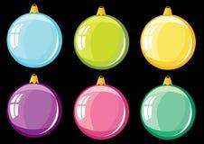 De ballen van Kerstmis. Royalty-vrije Stock Foto's