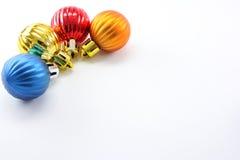 De ballen van Kerstmis Stock Foto's
