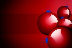 De ballen van Kerstmis, Stock Fotografie
