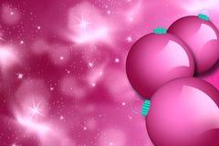De ballen van Kerstmis, Stock Foto's