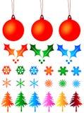 De ballen van Kerstmis Royalty-vrije Stock Afbeelding