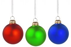 De ballen van Kerstmis Royalty-vrije Stock Afbeeldingen