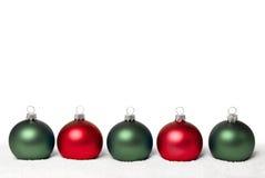 De ballen van Kerstmis. Royalty-vrije Stock Fotografie