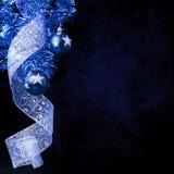 De ballen van Kerstmis met schitterende sterren Royalty-vrije Stock Foto's