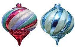 De ballen van Kerstmis tre Royalty-vrije Stock Fotografie