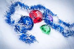 De ballen van Shinny Royalty-vrije Stock Fotografie