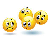De ballen van Smiley Royalty-vrije Stock Afbeelding