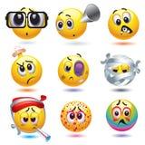De ballen van Smiley Royalty-vrije Stock Afbeeldingen