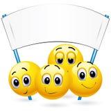 De ballen van Smiley royalty-vrije illustratie