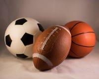 De ballen van sporten Royalty-vrije Stock Afbeeldingen