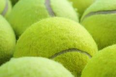De ballenachtergrond van het tennis stock foto
