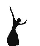 De ballerina vector illustratie