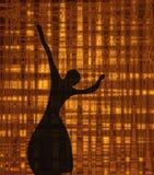 De ballerina royalty-vrije illustratie