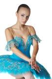 De ballerina in stelt Stock Foto's