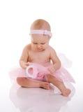 De Ballerina van de baby royalty-vrije stock afbeeldingen