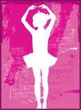 De Ballerina van het kind vector illustratie