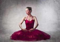 De ballerina van Prima Stock Afbeelding