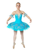 de ballerine de danse jeunes merveilleux avec élégance Images libres de droits