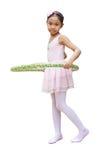 De balletdanser van het meisje Stock Afbeelding
