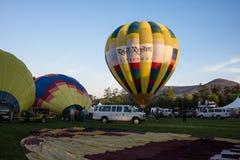 2013 de Ballon en de Wijnfestival van Temecula Stock Foto