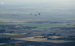 De Ballon van de hete Lucht Stock Foto