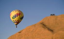 De Ballon van de hete Lucht. royalty-vrije stock afbeeldingen