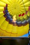 De Ballon van de hete Lucht Klaar toe te nemen Stock Afbeelding