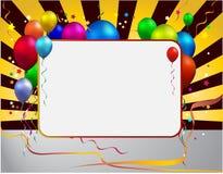 De ballon van de partij stock illustratie