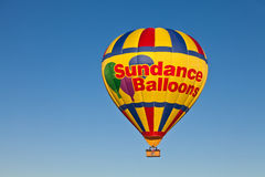 De Ballon van de Sundance Hete lucht Stock Foto