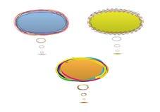 De ballon van de toespraak vector illustratie
