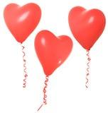 De ballon van de valentijnskaart Royalty-vrije Stock Afbeelding