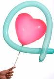 De ballon van het hart Royalty-vrije Stock Fotografie