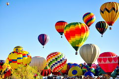 De Ballonfestival van Albuquerque in New Mexico Royalty-vrije Stock Afbeeldingen