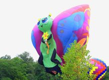 De Ballonfestival van Centraliaillinois Royalty-vrije Stock Afbeelding