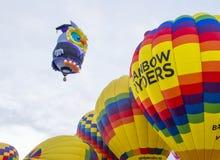 De Ballonfiesta van Albuquerque Stock Foto's