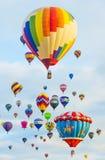 De Ballonfiesta van Albuquerque Royalty-vrije Stock Foto's