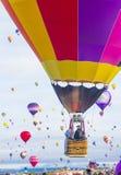 De Ballonfiesta van Albuquerque Stock Afbeelding