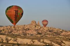 De ballons nemen Vlucht Royalty-vrije Stock Foto's