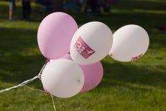 de ballons van 3 dagen royalty-vrije stock afbeeldingen