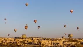 De ballons van Cappadocia Royalty-vrije Stock Foto