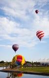De Ballons van de hete Lucht stock fotografie