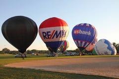 De Ballons van de hete Lucht Royalty-vrije Stock Foto's