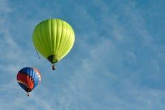 De Ballons van de hete Lucht Stock Foto's