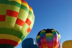 De Ballons van de hete Lucht Stock Foto