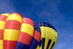 De Ballons van de hete Lucht - chateau-D'Oex 2010 Stock Fotografie
