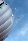 De Ballons van de hete Lucht - chateau-D'Oex 2010 Stock Foto