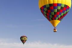 De Ballons van de hete Lucht over Arizona stock foto
